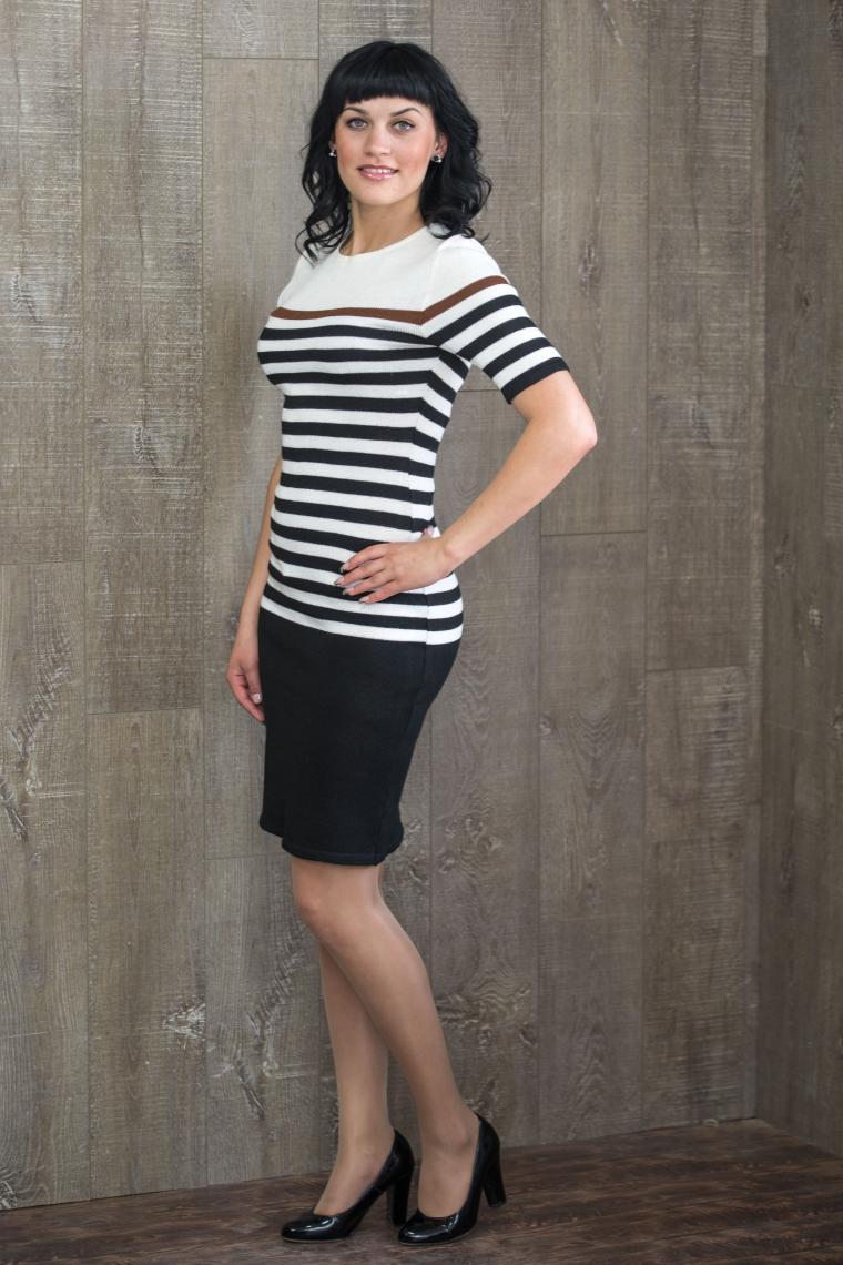 аукцион сегодня, аукцион вязаное платье, черно-белое платье