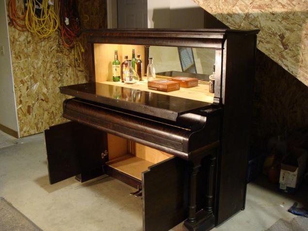 Как можно сделать пианино