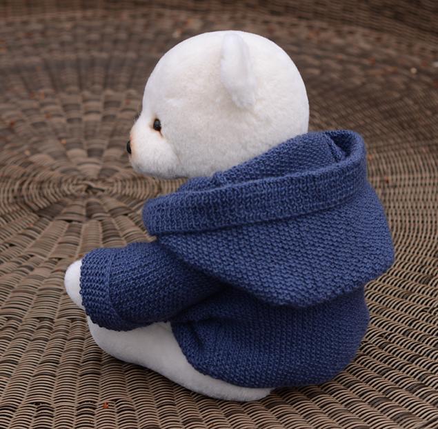 купить мишку тедди, мишка тедди в пальто, заказать мишку тедди