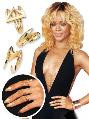 кольца, модные украшения
