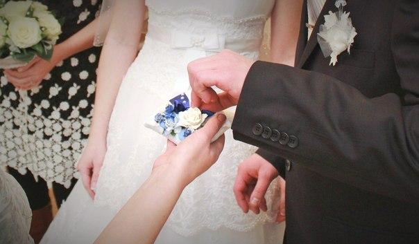 свадебные украшения, синяя свадьба