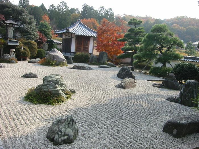 Микромиры: японские сады камней, фото № 9