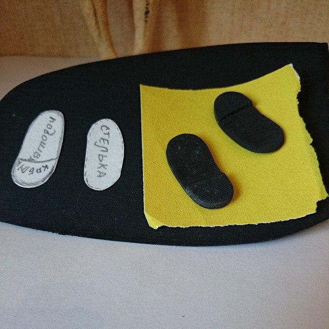 туфли для мишки