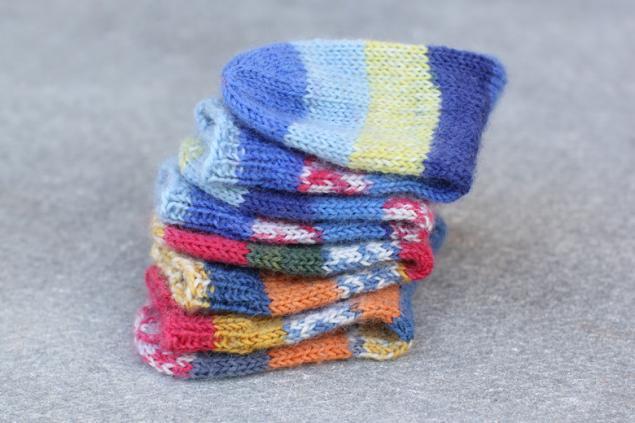 пряжа, связать носки