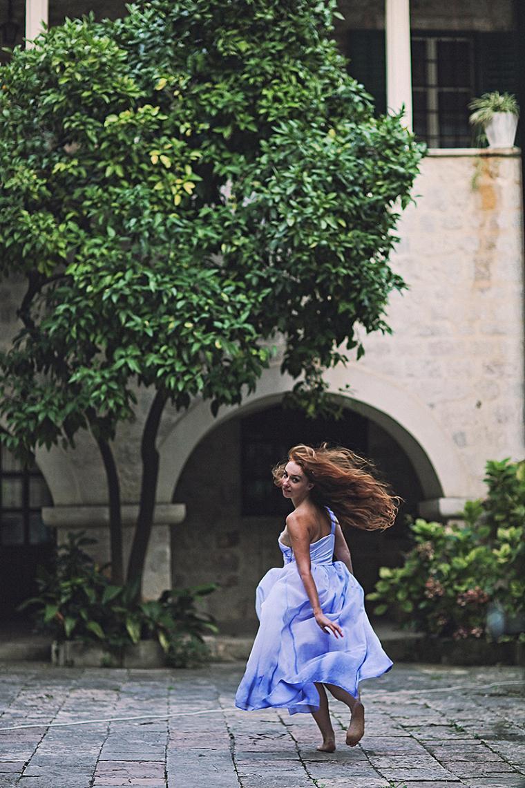 платье в пол, любовь