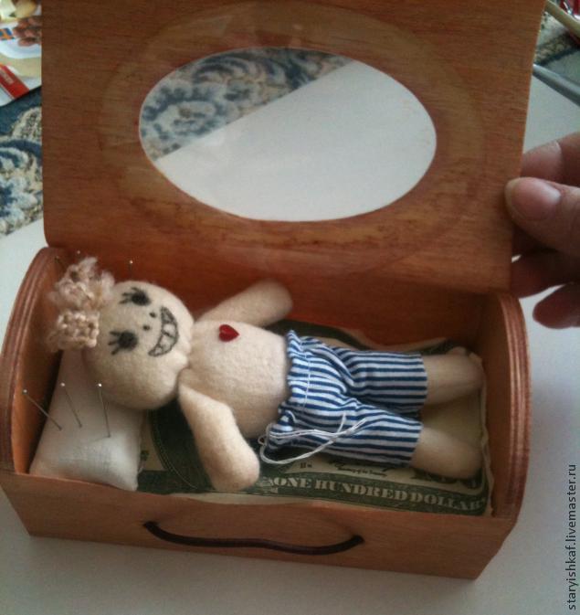 Создание куколки Вуду с хорошими намерениями, фото № 11