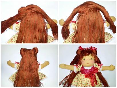 вальдорфсская кукла, подарок девочке
