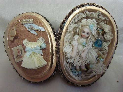 малюсенькая куколка