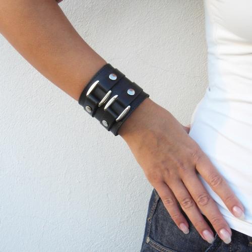 Кожаные браслеты на руку своими руками