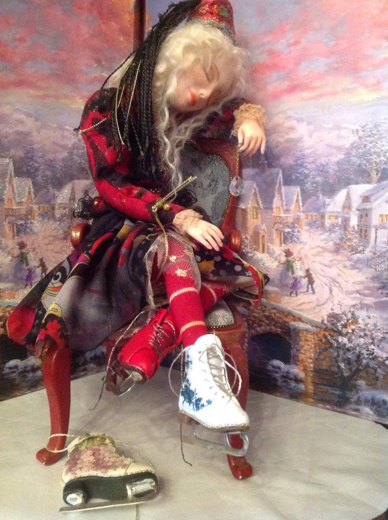 коньки для кукол