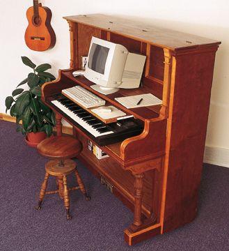 Как сделать из пианино стол - Dmitrykabalevsky.ru