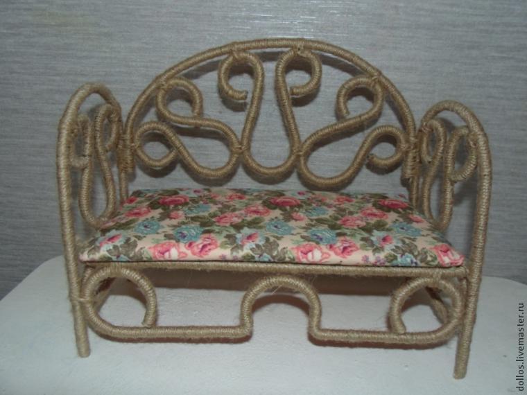 Плетеная мебель из проволоки своими руками 28