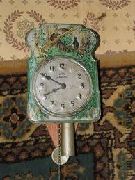 Часы-ходики из спичечного коробка в кукольный дом, фото № 1