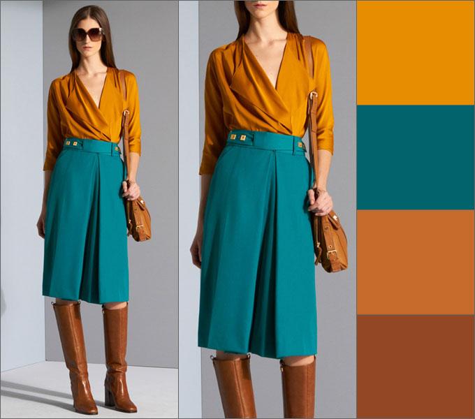 шафрановая одежда