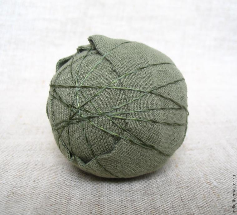embroidered ball