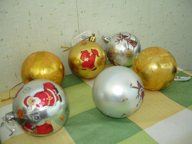 шары на елку