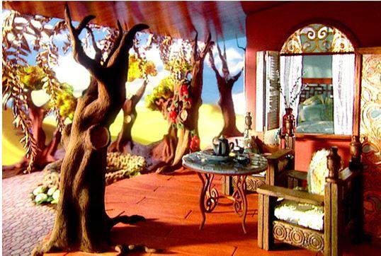 Невероятные кукольные домики и интерьеры Hila Rosenberg. Часть 2, фото № 16