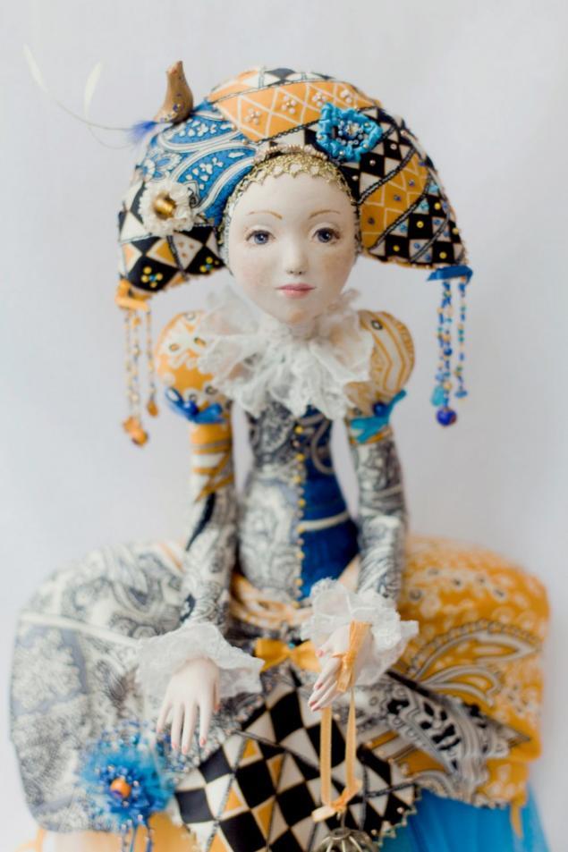 Авторская кукла из паперклея мастер класс