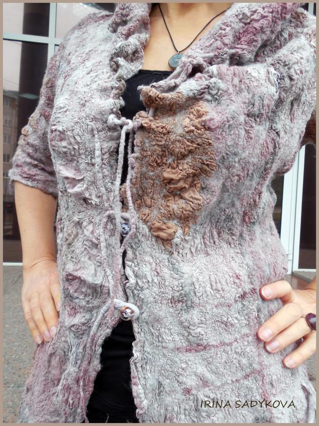 платье, нунофелт, садыкова ирина