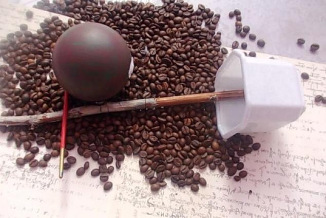 Топиарий из кофе пошагово