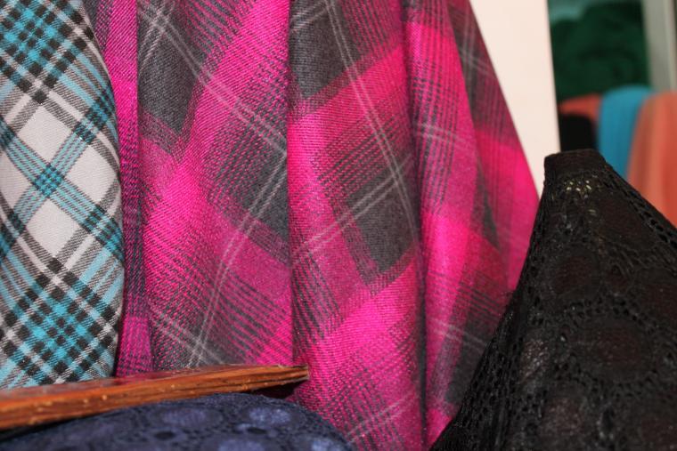 осенние ткани