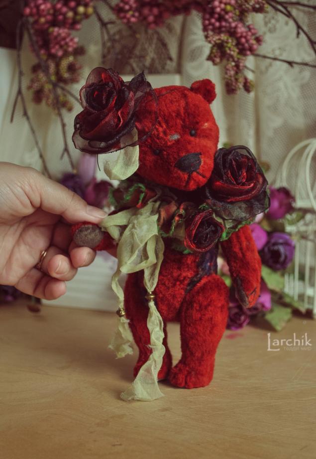 мишки-розы