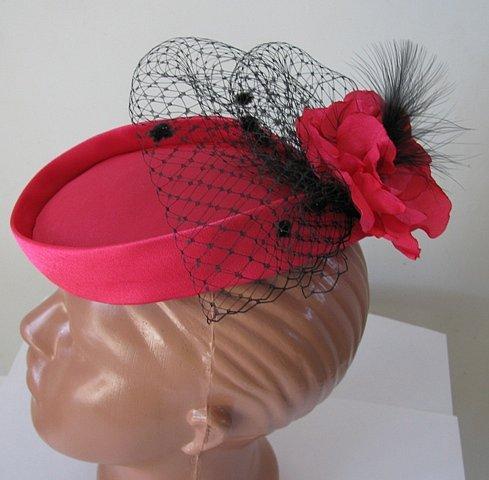 Шляпа с пером своими руками