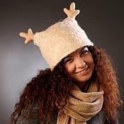 мастер-класс, шапка с ушками