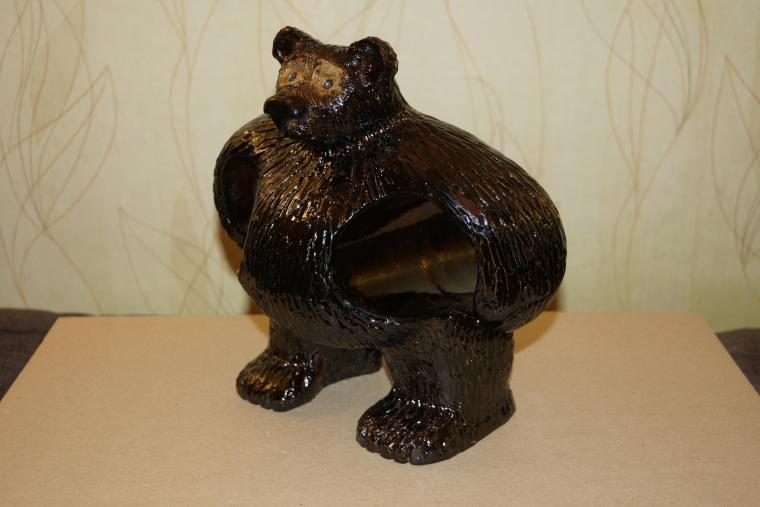 бутылочница, медведь