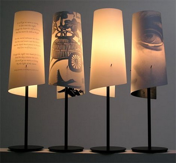 Оригинальная настольная лампа своими руками