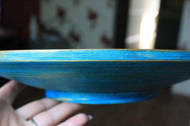посуда точечная роспись