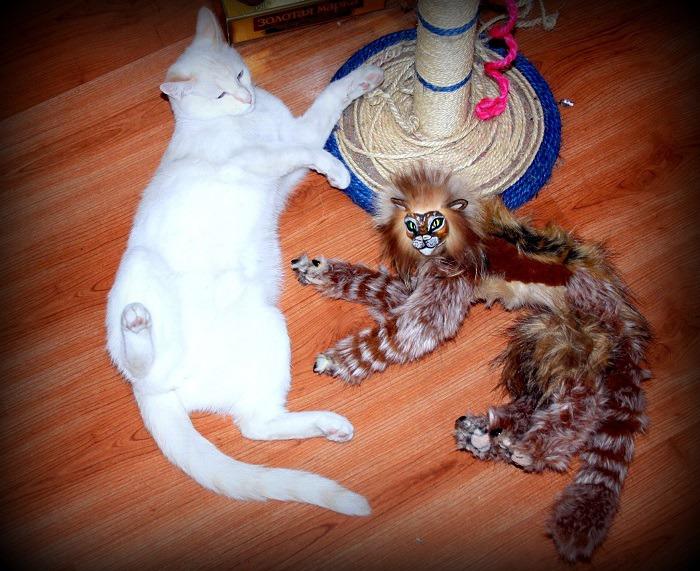 Оберег для кошки своими руками 25