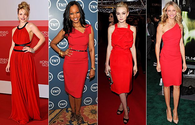 красное платье, стиль, мода, тренд