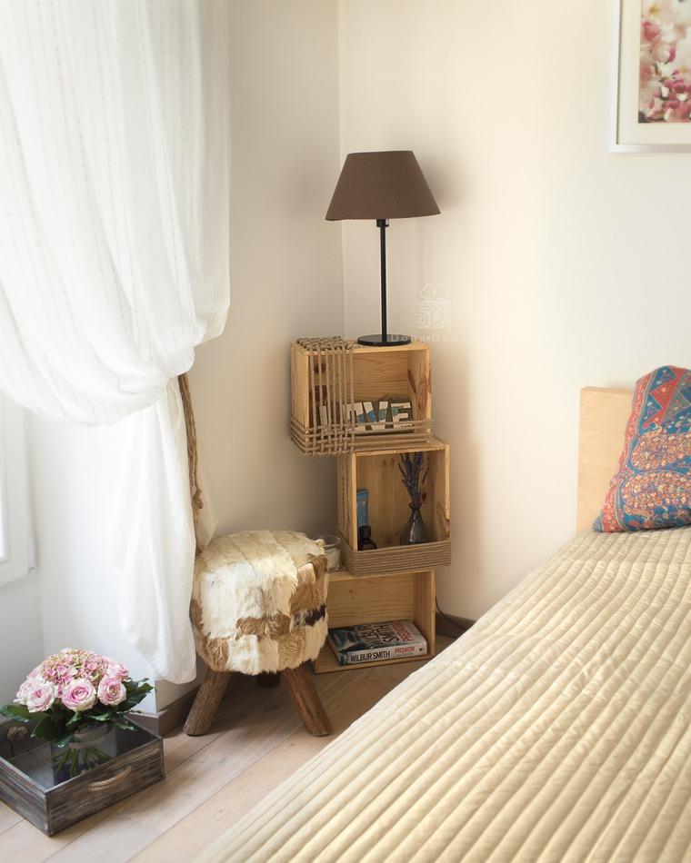 короб, дизайн спальни, этажерка, тумбочка