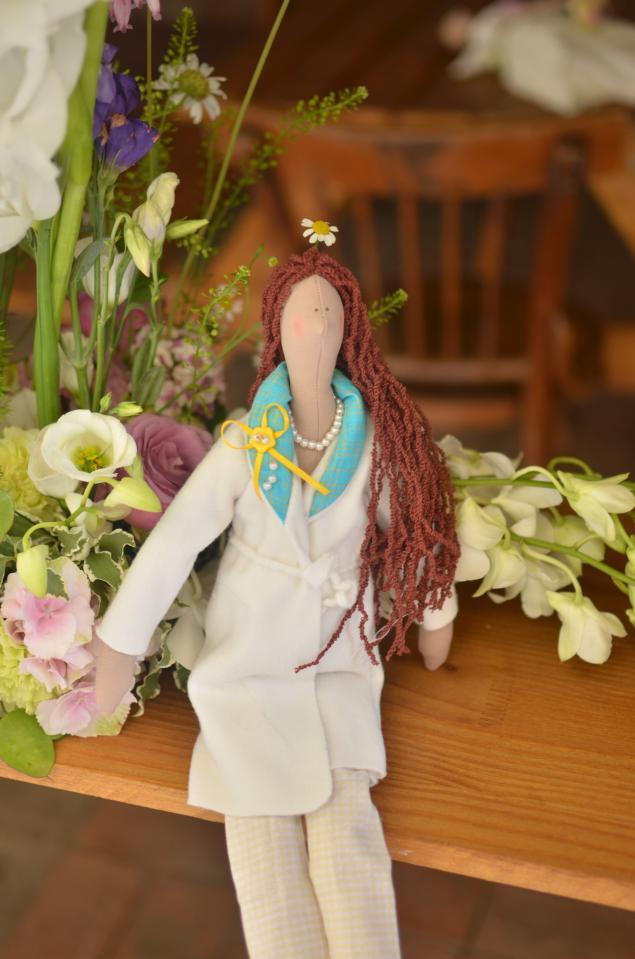 тильда, занятия по кукле
