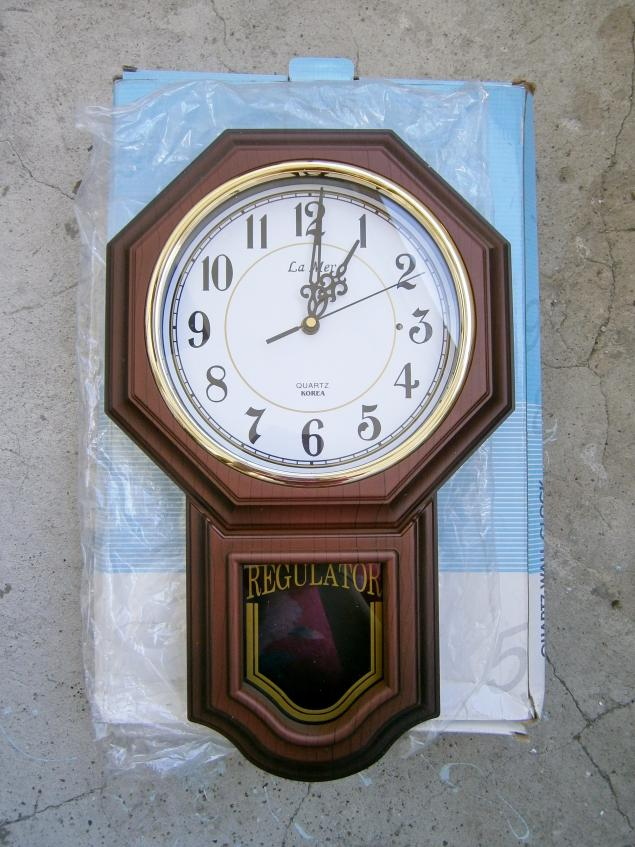 часы, декор