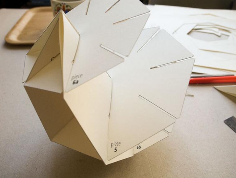 Геометрия декора: идеи и схемы для создания интерьерных украшений из бумаги / Surfingbird - проводи время с пользой для себя!