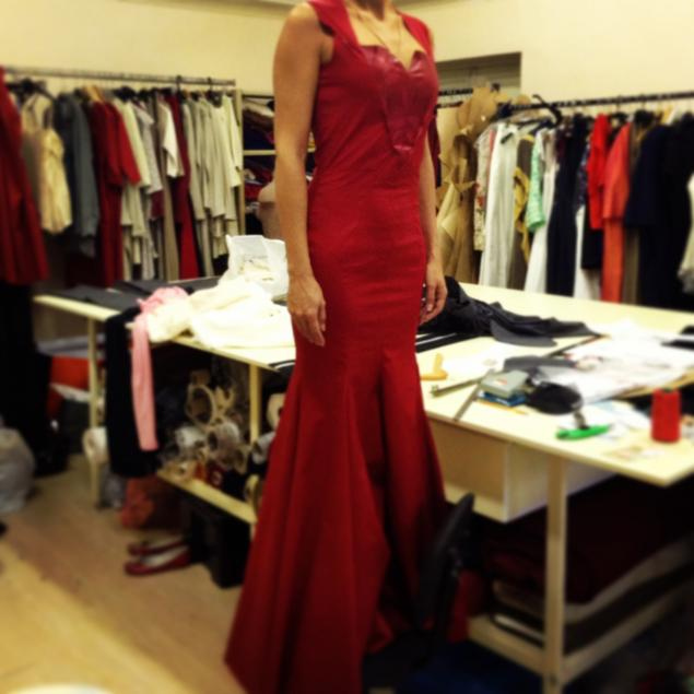 ruzanna gukasyan, вечернее платье