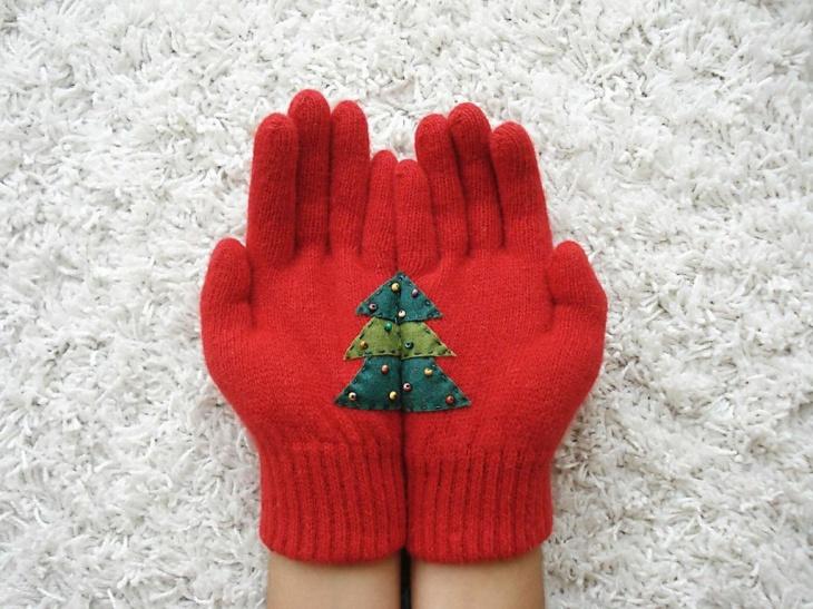 оригинальные перчатки