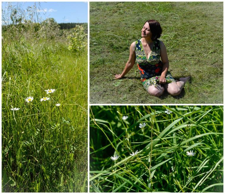 лето, солнце, сухие травы, куклы, ирина колпакова