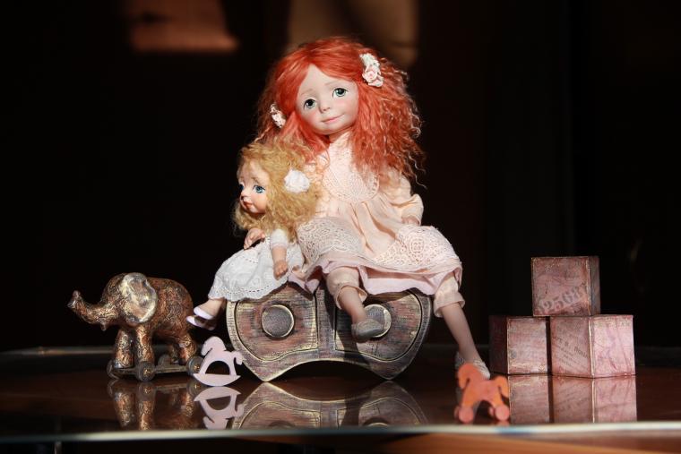 салон кукол, кукла, приглашение, весенний бал кукол