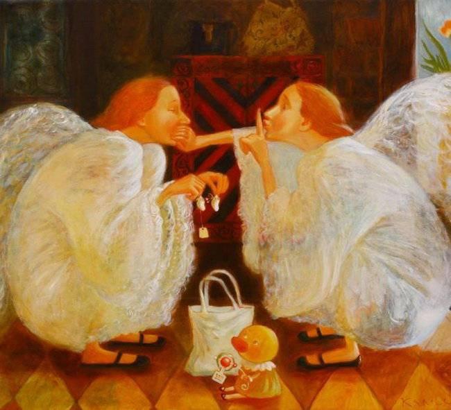 Путешествие в детство с белорусской художницей Анной Королёвой, фото № 17