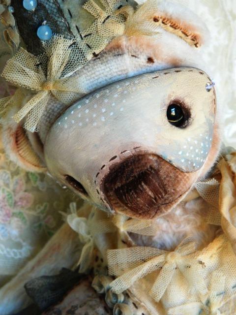 мишки тедди, кукольное платье