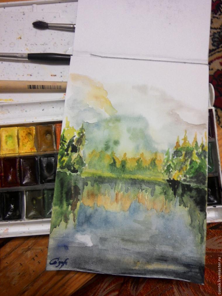 «Спогади»: малюємо картину аквареллю