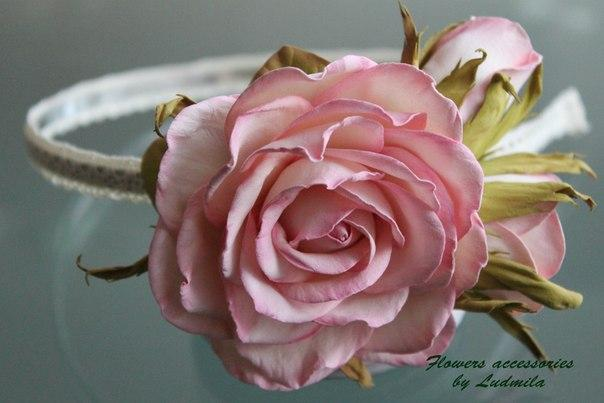 Роза из фоамирана мастер класс