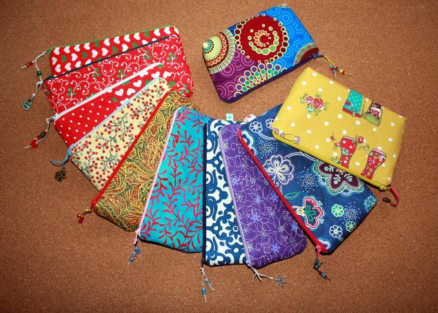косметичка ручной работы, подарок маме на нг, текстильный пенал, полезный подарок купить, новогодняя акция