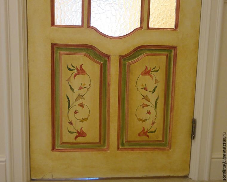 роспись дверей