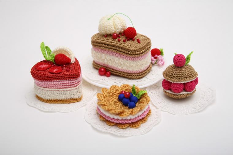 сладости, торт, крем