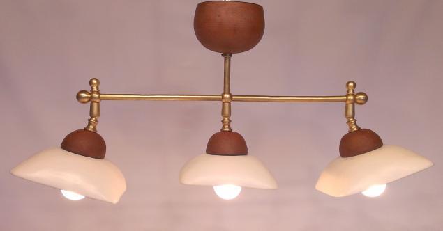 плафоны для люстр, для дома, светильник из глины, светильник над столом