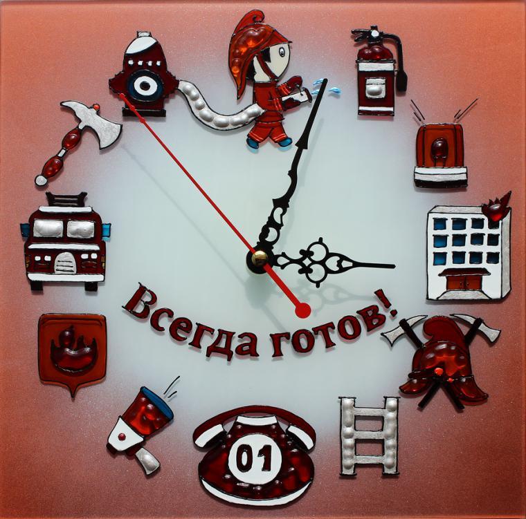 настенные часы, пожарная охрана